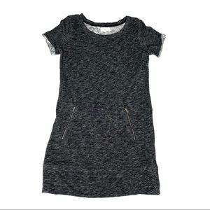 Lou & Grey Short Sleeve Kangaroo Pocket Dress